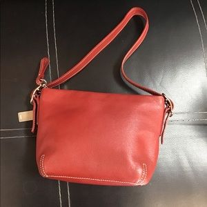 Coach red mini purse